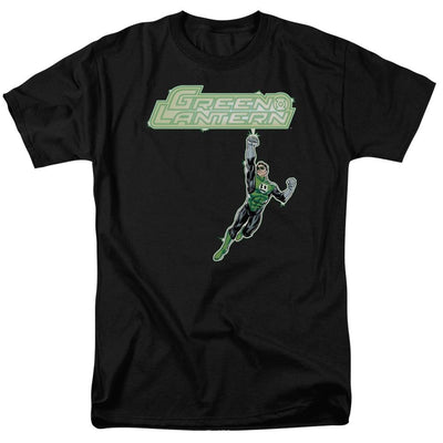 Green Lantern Energy Construct Logo Men's Regular Fit T-Shirt