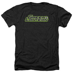 Green Lantern Scribble Title Adult Regular Fit Heather T-Shirt