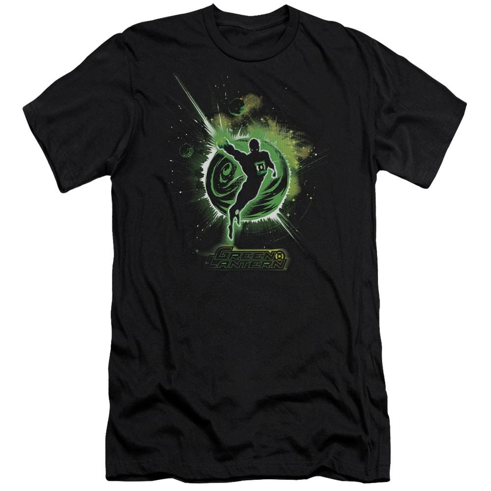 Green Lantern Shadow Lantern Premium Adult Slim Fit T-Shirt