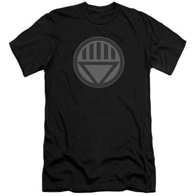 Green Lantern Black Symbol Men's Slim Fit T-Shirt