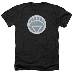 Green Lantern White Symbol Adult Regular Fit Heather T-Shirt