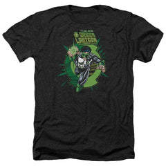 Green Lantern Rayner Cover Adult Regular Fit Heather T-Shirt