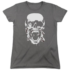 Green Lantern - Black Lantern Skull Women's T-Shirt