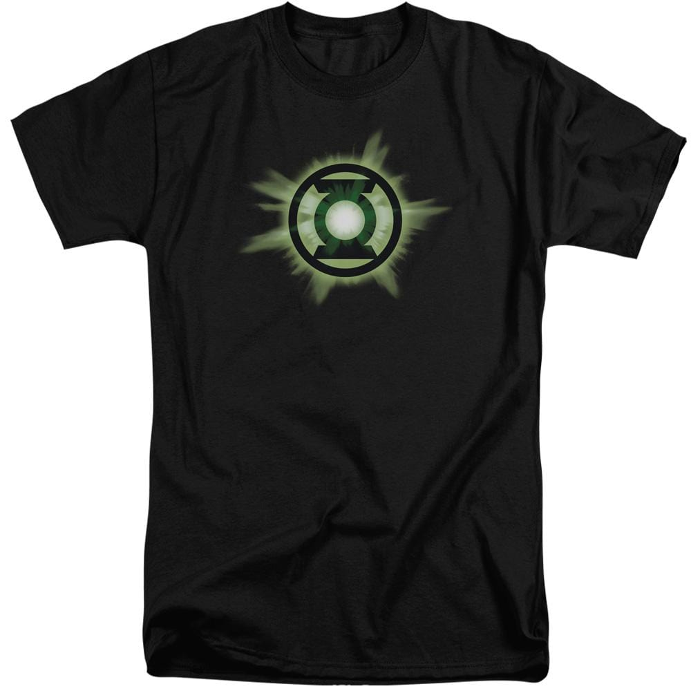 Green Lantern Green Glow Adult Tall Fit T-Shirt