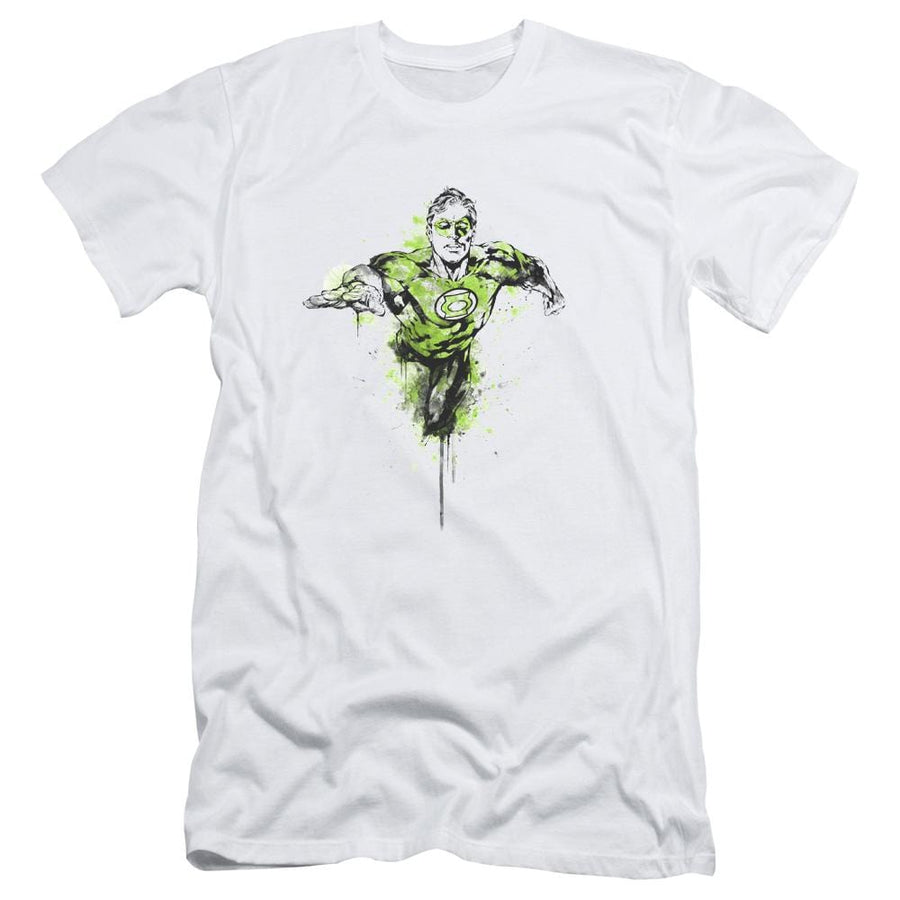 Green Lantern Inked Men's Slim Fit T-Shirt