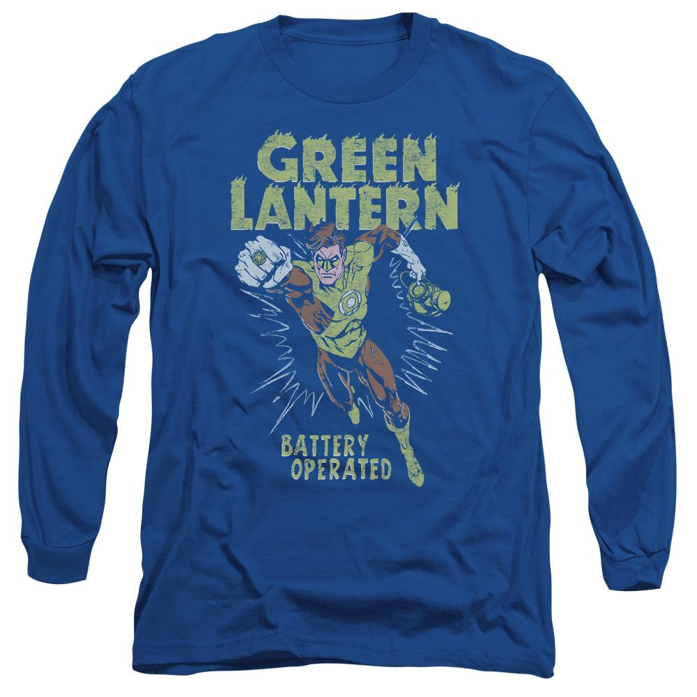 Green Lantern - Fully Charged Adult Long Sleeve T-Shirt