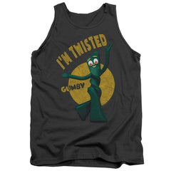 Gumby Twisted Adult Tank Top
