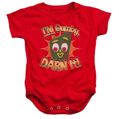 Gumby Darn It Baby Onesie