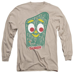 Gumby Inside Gumby Adult Long Sleeve T-Shirt