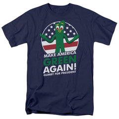 Gumby - For President Adult Regular Fit T-Shirt