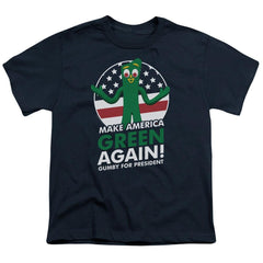 Gumby - For President Youth T-Shirt