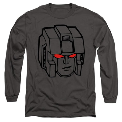 Transformers Starscream Head Men's Long Sleeve T-Shirt