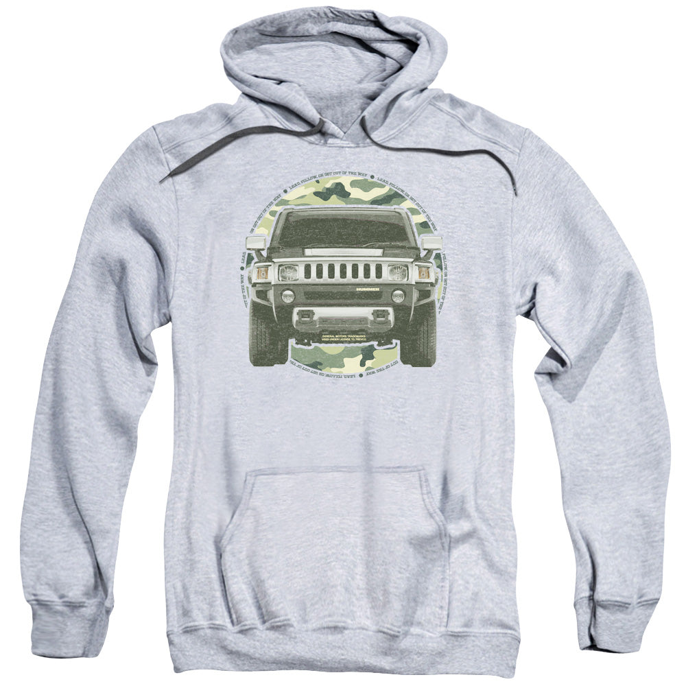 Hummer - Lead Or Follow Adult Pull-Over Hoodie