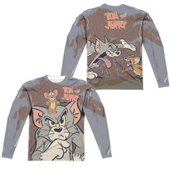 Tom And Jerry Up To No Good Long Sleeve T-Shirt