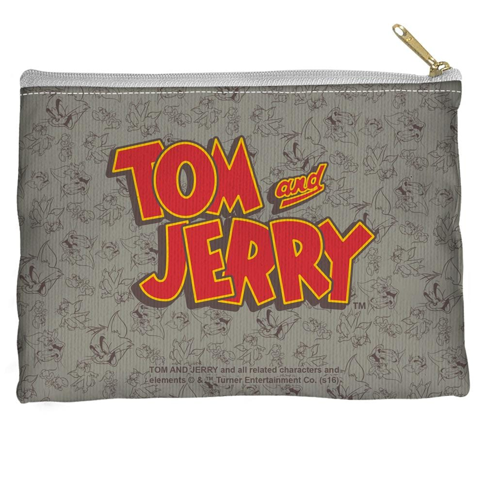 Tom And Jerry - Logo Straight Bottom Pouch