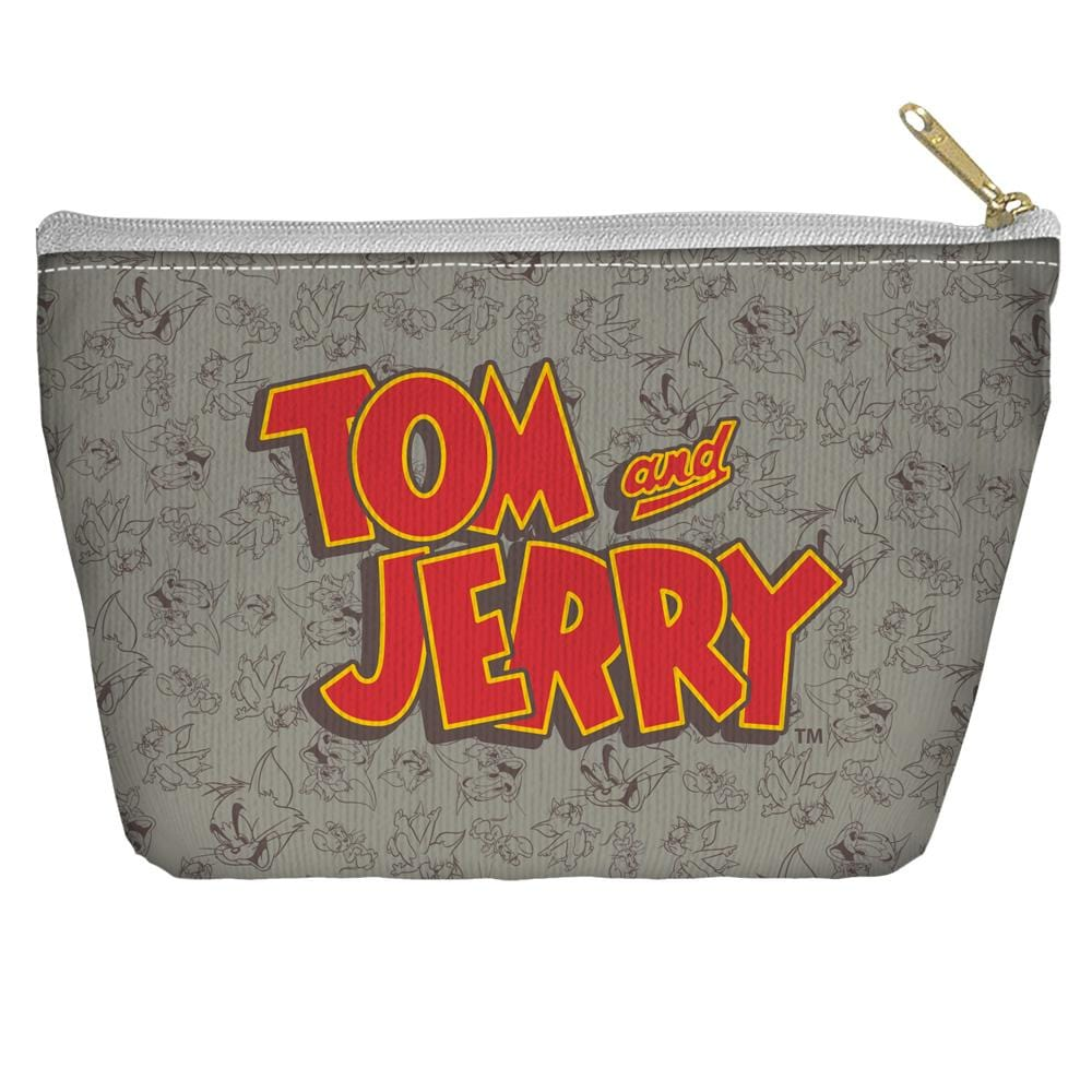 Tom And Jerry - Logo Tapered Bottom Pouch