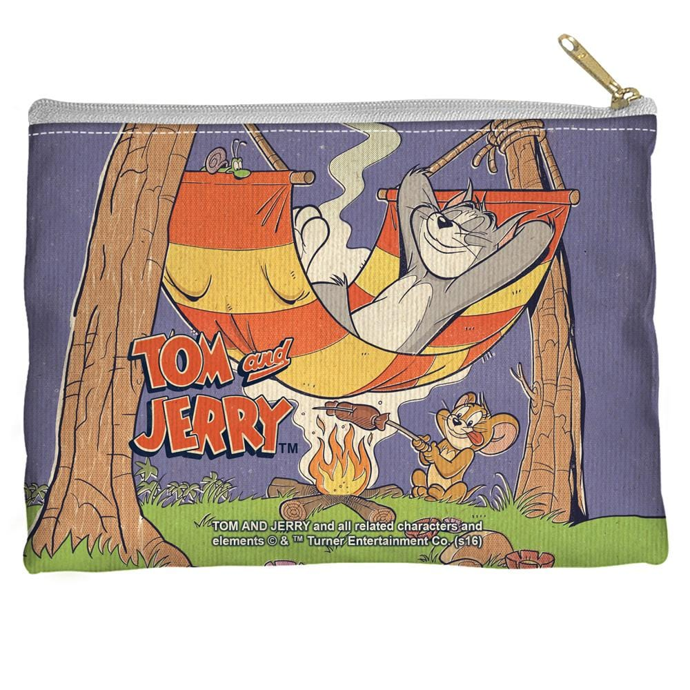 Tom And Jerry - Rest And Relaxation Straight Bottom Pouch