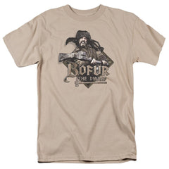 The Hobbit Bofur Adult Regular Fit T-Shirt