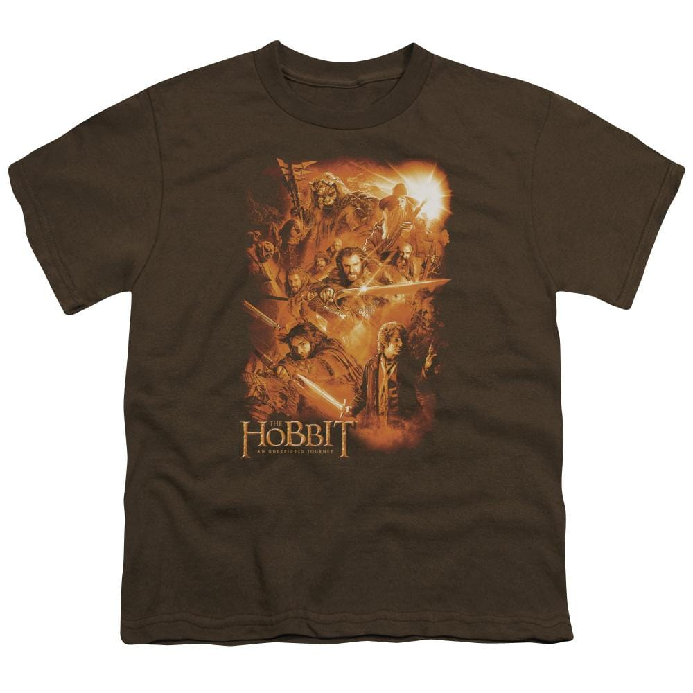 The Hobbit - Epic Adventure Youth T-Shirt (Ages 8-12)