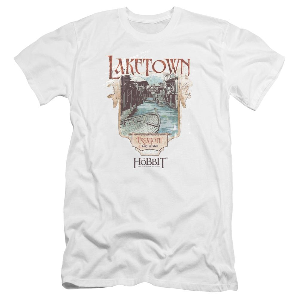 Hobbitlaketown Premium Adult Slim Fit T-Shirt
