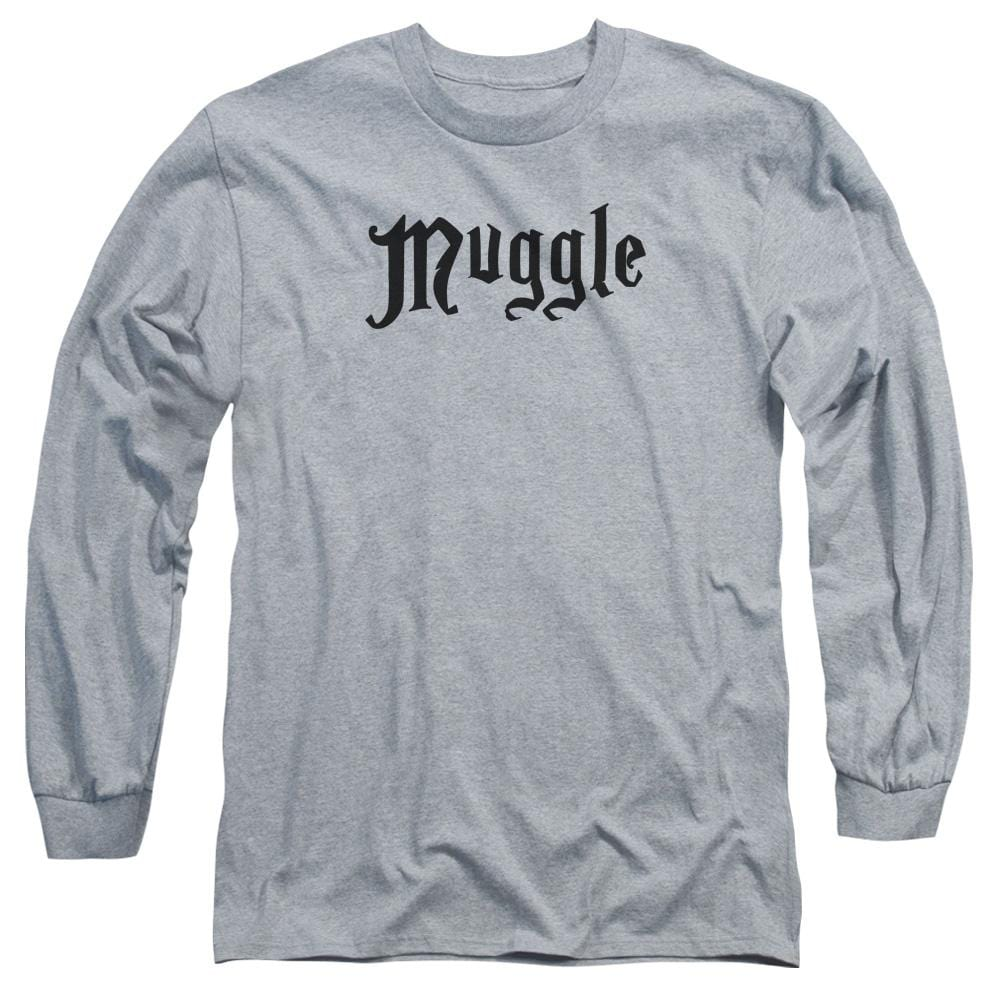 Harry Potter - Muggle Adult Long Sleeve T-Shirt
