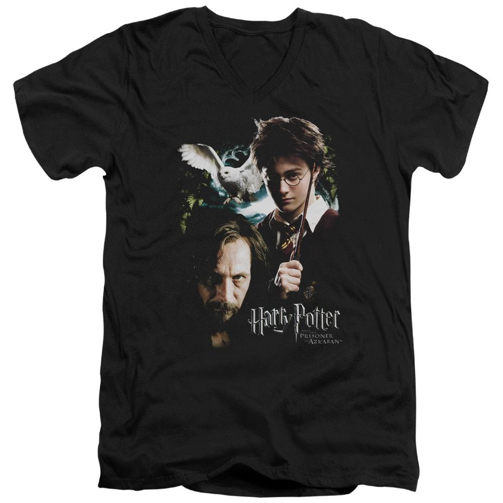 Harry Potter - Harry And Sirius Adult V-Neck T-Shirt