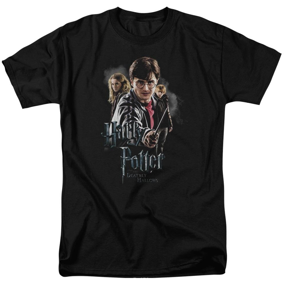 Harry Potter - Deathly Hollows Cast Adult Regular Fit T-Shirt