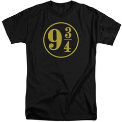 Harry Potter - 9 3 - 4 Adult Tall Fit T-Shirt