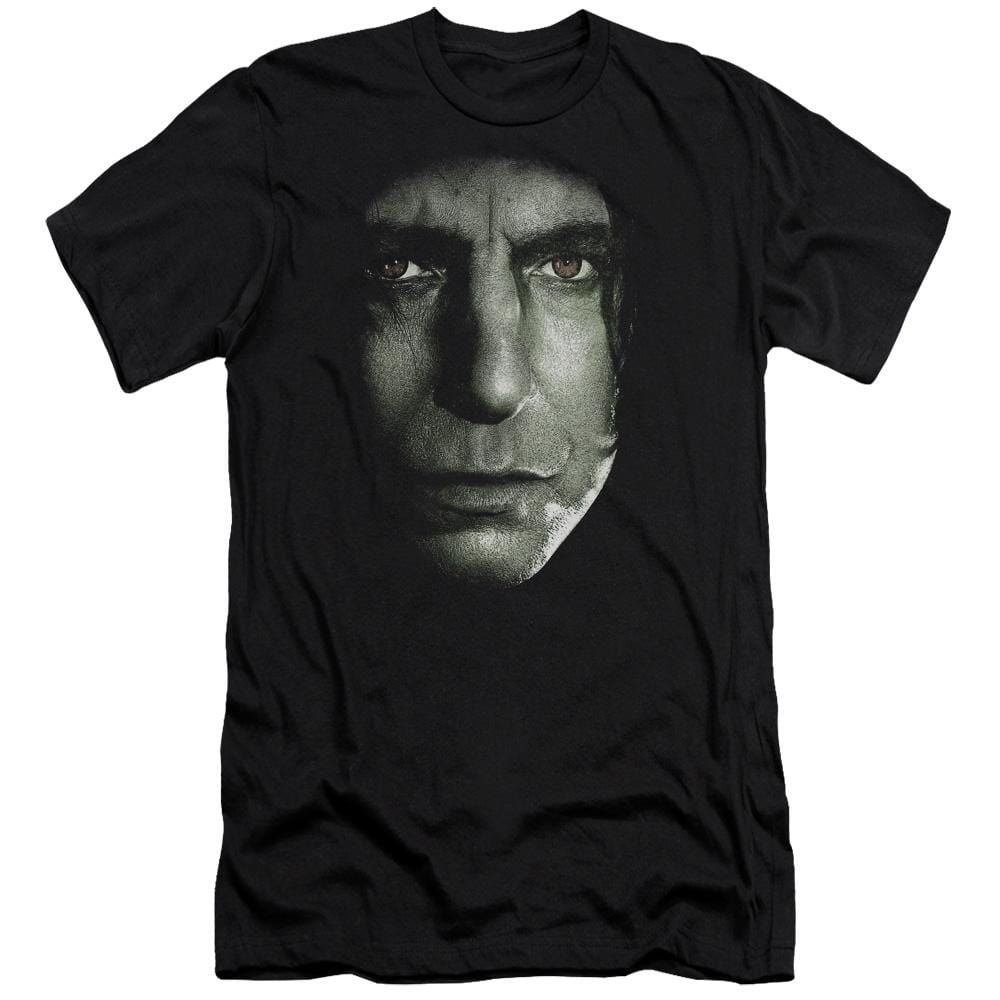 Harry Potter - Snape Head Premium Adult Slim Fit T-Shirt