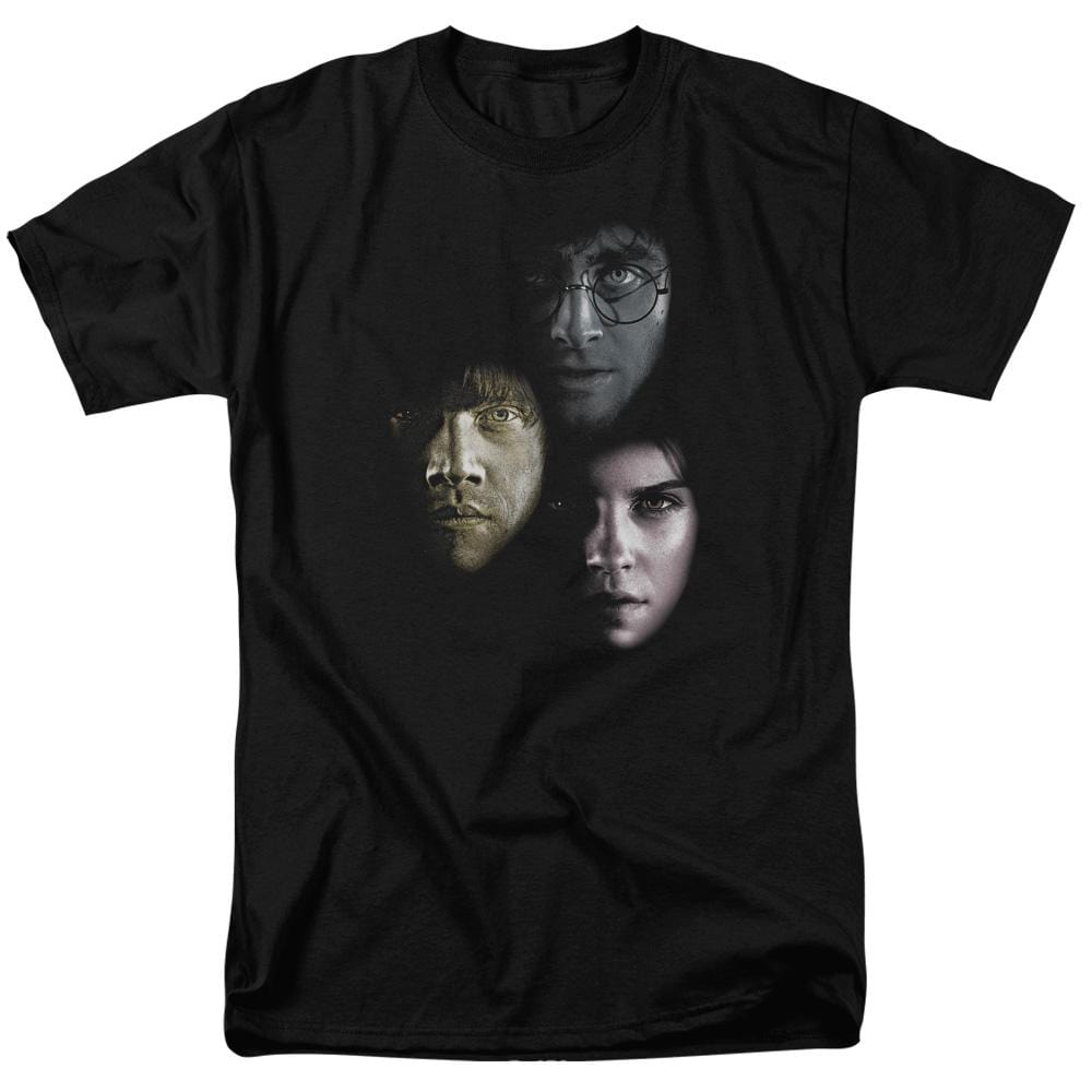 Harry Potter - Hero Heads Adult Regular Fit T-Shirt