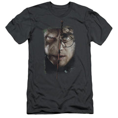 Harry Potter It All Ends Here Adult Slim Fit T-Shirt