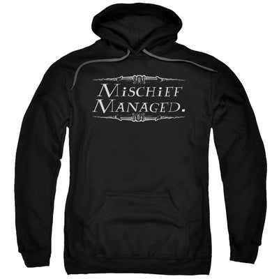 Harry Potter Mischief Managed Pullover Hoodie