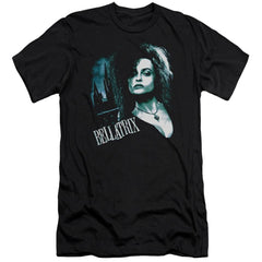 Harry Potter Bellatrix Closeup Adult Slim Fit T-Shirt