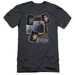 Harry Potter - Trio Collage Premium Adult Slim Fit T-Shirt