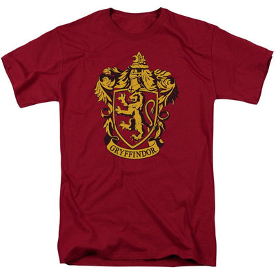Harry Potter Gryffindor Crest Men's Regular Fit T-Shirt