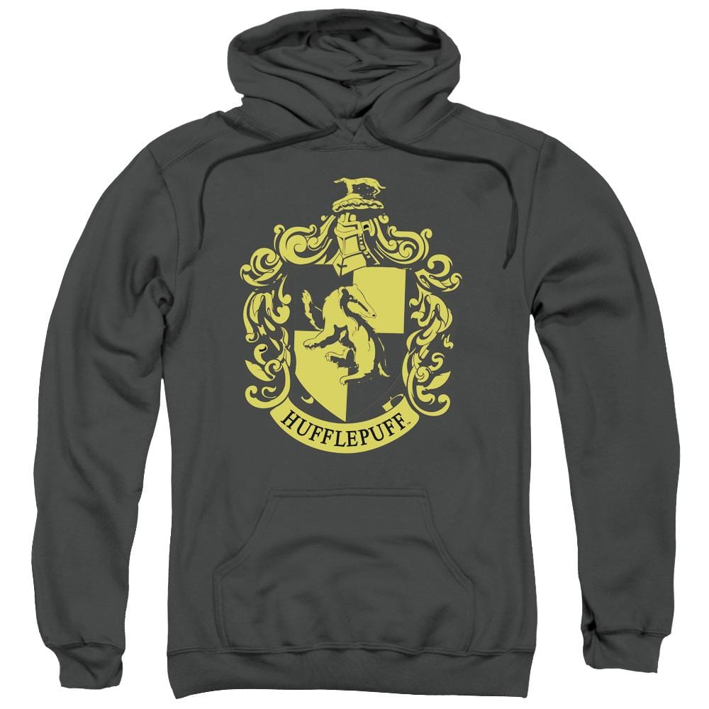 Harry Potter - Hufflepuff Crest Adult Pull-Over Hoodie