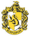 Harry Potter Hufflepuff Crest Men's Regular Fit T-Shirt