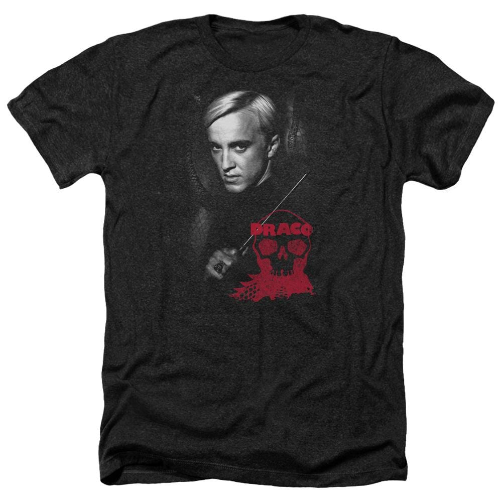 Harry Potter - Draco Portrait Adult Regular Fit Heather T-Shirt