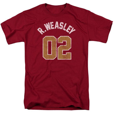 Harry Potter Weasley Jersey Men's Regular Fit T-Shirt