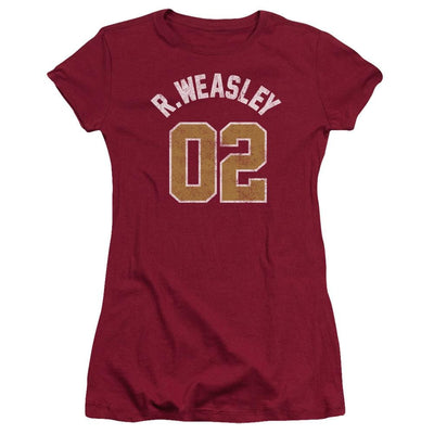 Harry Potter Weasley Jersey Juniors T-Shirt