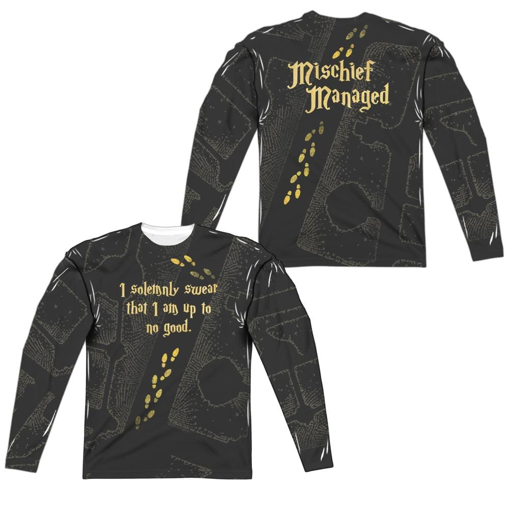 Harry Potter - Marauder's Map  Adult Long Sleeve T-Shirt