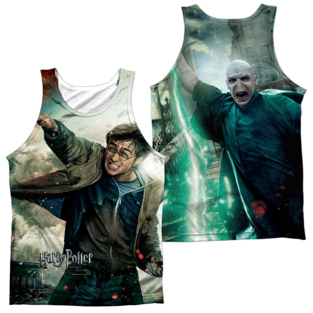 Harry Potter Harry Vs Voldemort Adult 100% Poly Tank Top