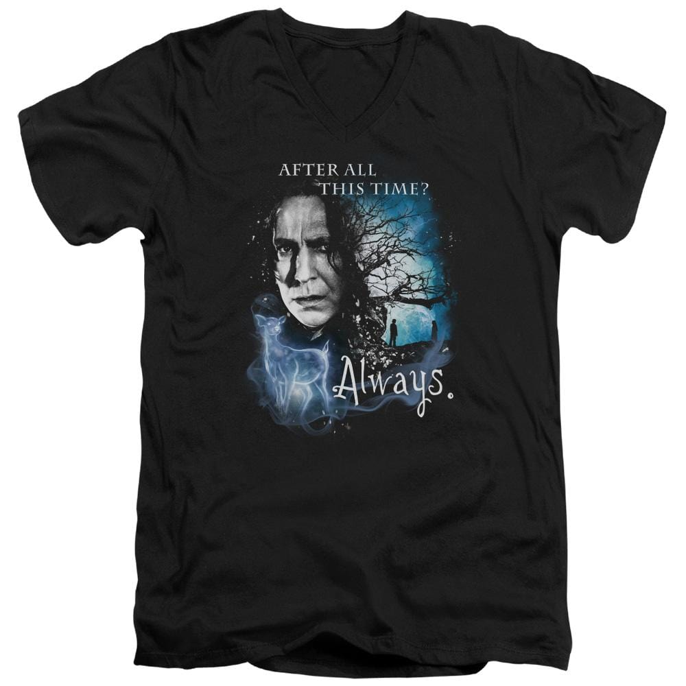 Harry Potter - Always Adult V-Neck T-Shirt