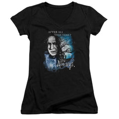 Harry Potter - Always Junior V-Neck T-Shirt
