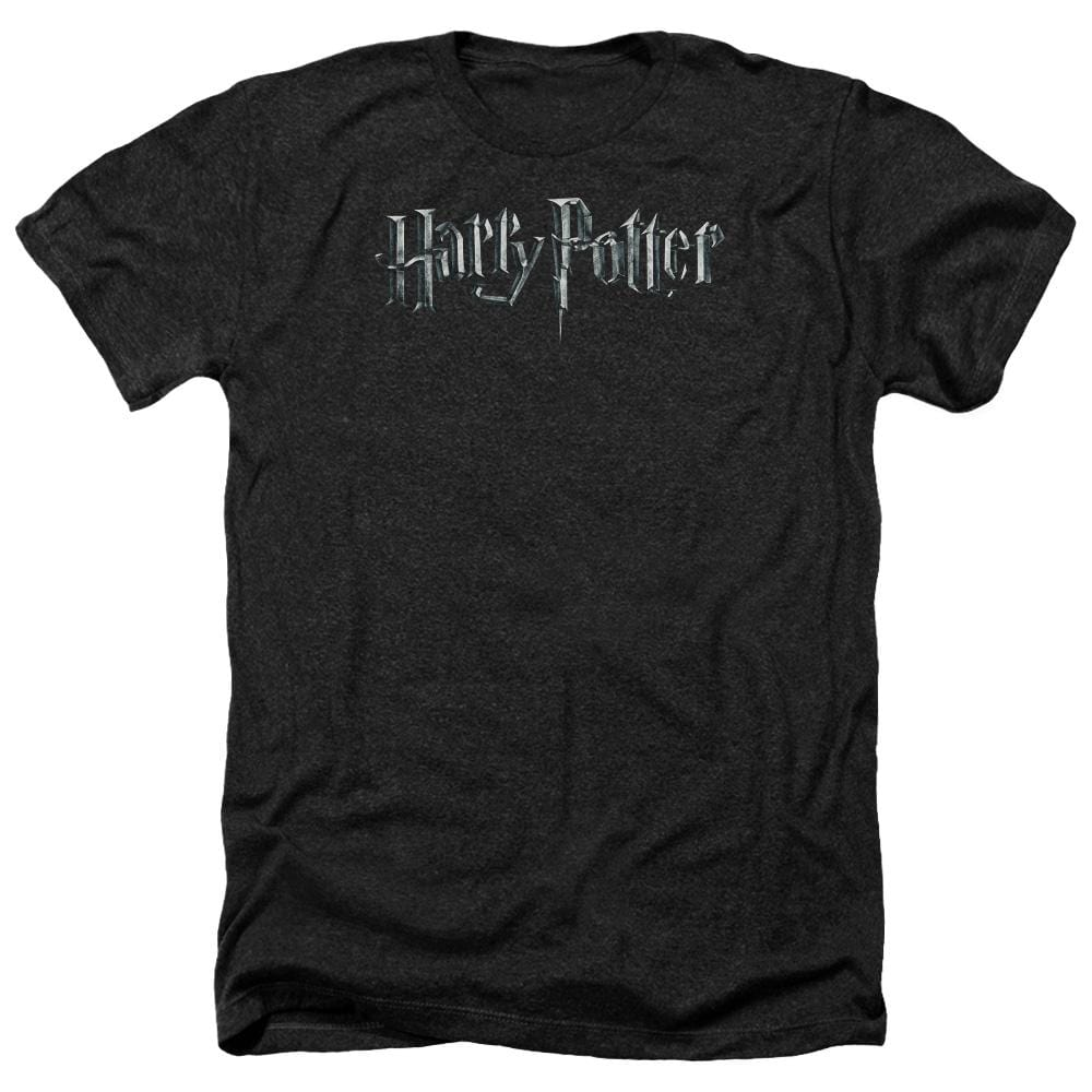 Harry Potter - Logo Adult Regular Fit Heather T-Shirt