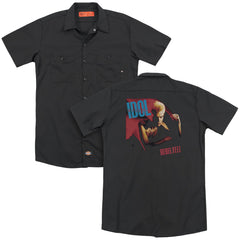 Billy Idol Rebel Yell Adult Work Shirt