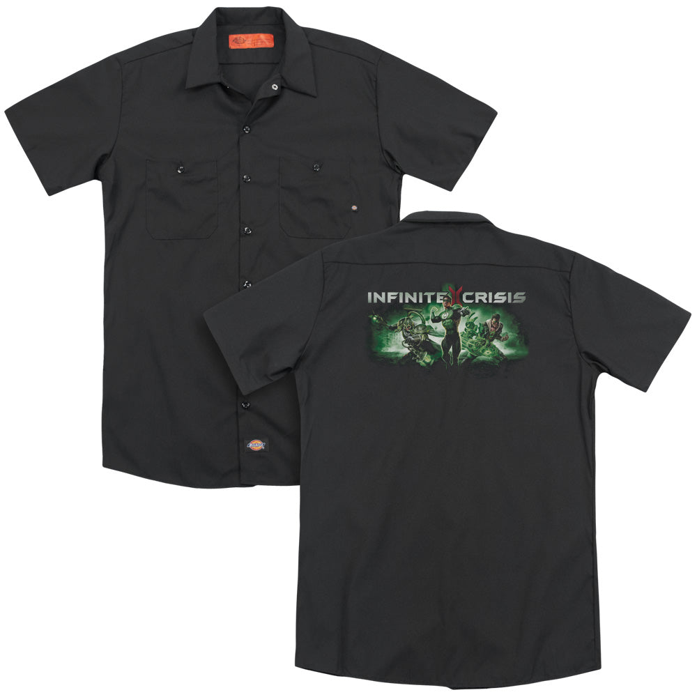 Infinite Crisis Ic Green Adult Work Shirt