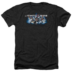 Infinite Crisis Ic Blue Adult Regular Fit Heather T-Shirt
