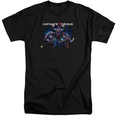 Infinite Crisis Ic Super Adult Tri-Blend T-Shirt