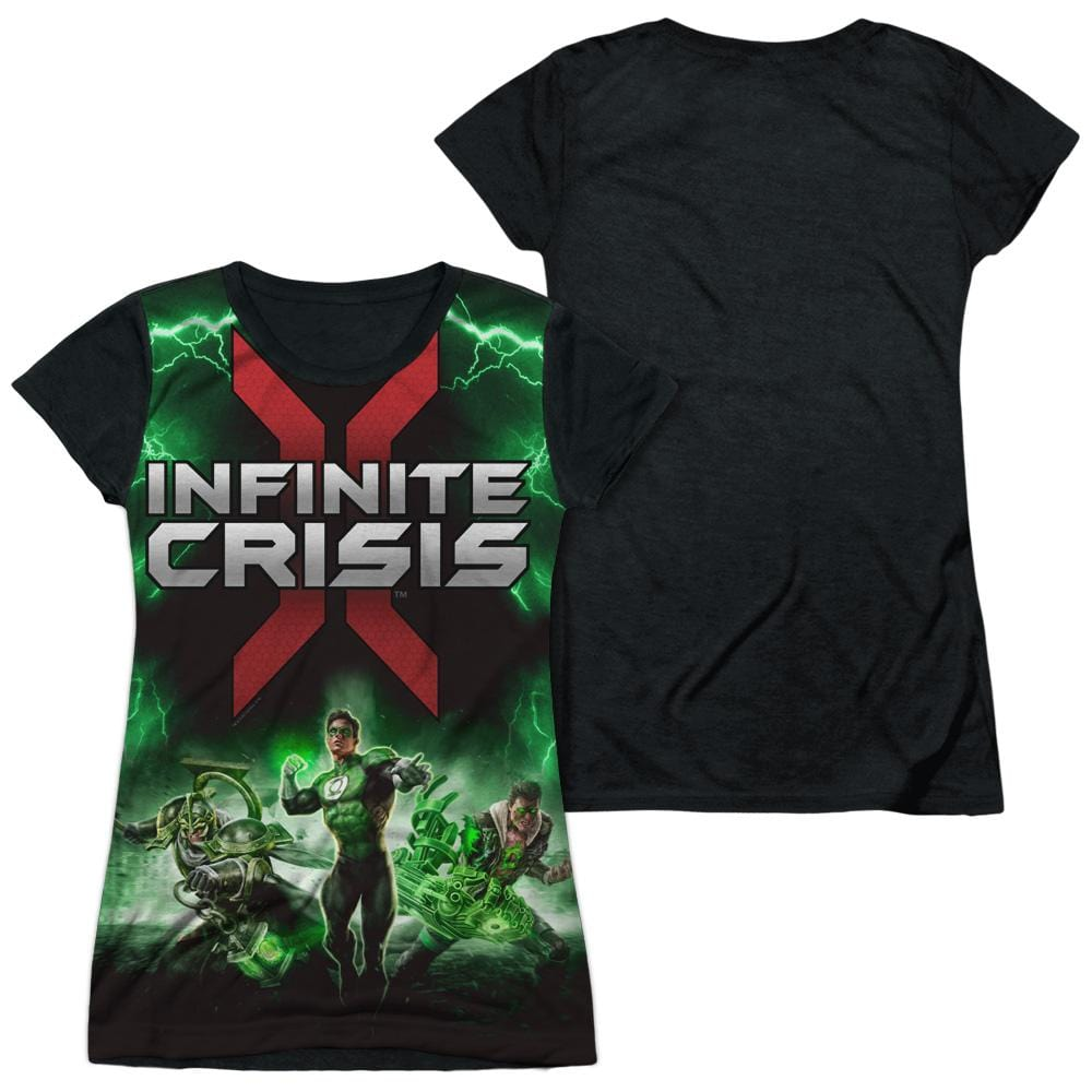 Infinite Crisis - Ic Green Lantern Junior All Over Print 100% Poly T-Shirt